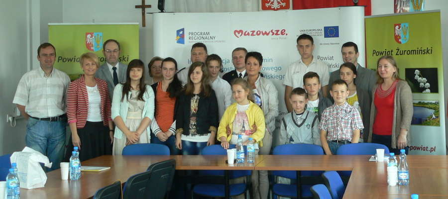 Laureaci konkursu o Puchar szefa Obrony Cywilnej Powiatu