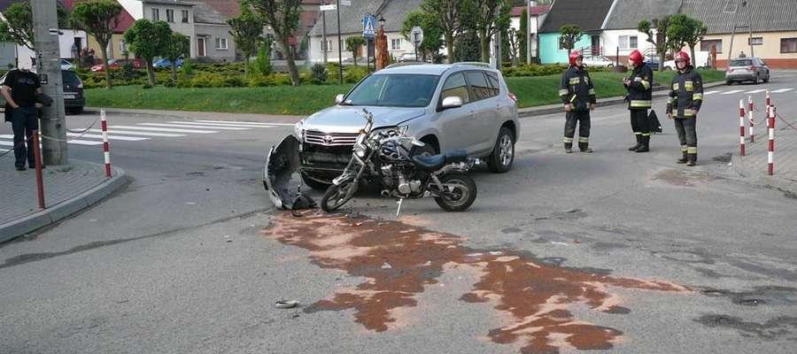 Do zderzenia doszło po godz. 8 rano