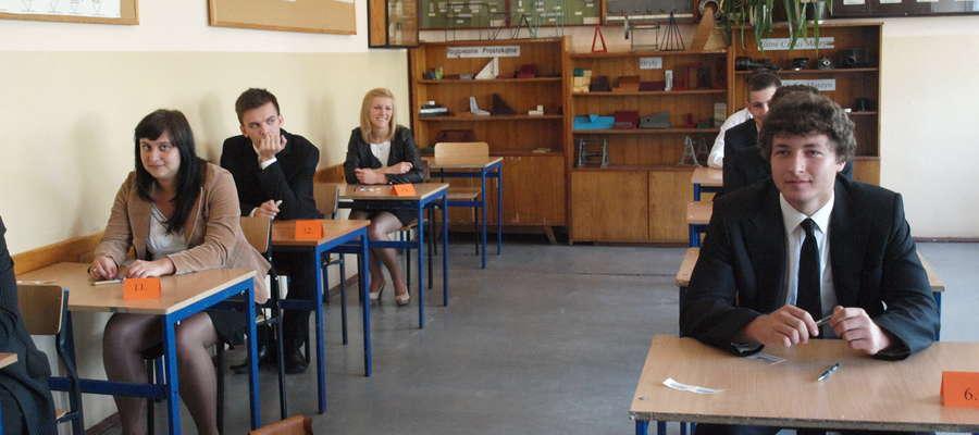 Maturzyści ZSP w Żurominie za chwilę zaczną pisać egzamin z języka angielskiego