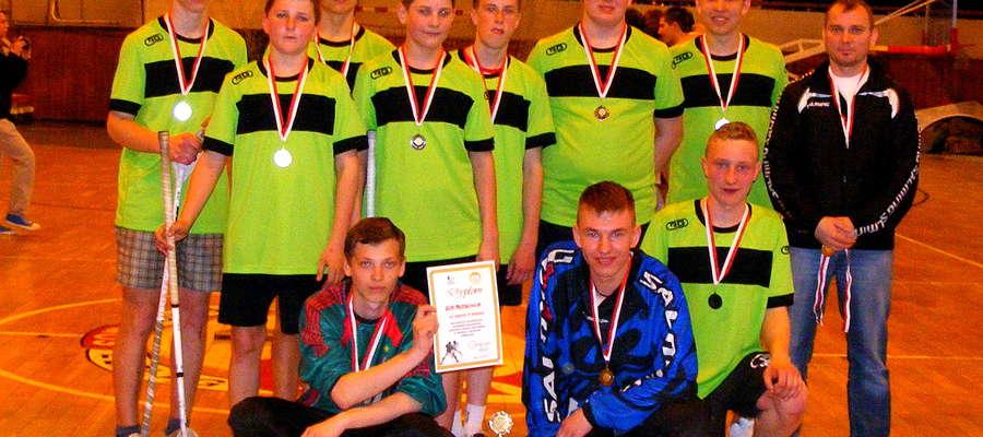 Srebrni medaliści Gimnazjady 2013r-drużyna z Płoskini