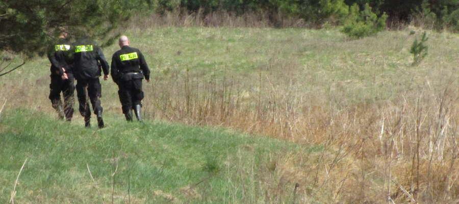 Akcja poszukiwawcza objęła teren autodromu od Górki po Lubajny
