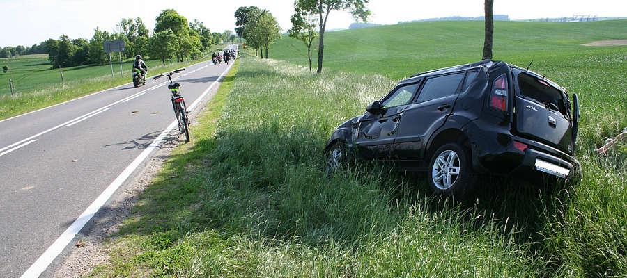 """Rosjanka kierująca tym samochodem nie wiedziała """"jak to się stało?"""""""