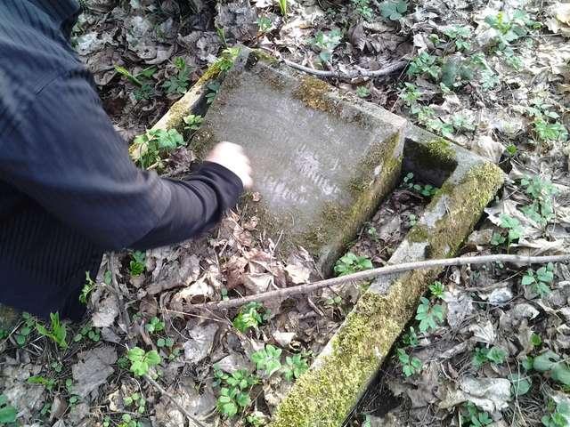 Kruklin: cmentarz ewangelicki i mogiła żołnierzy rosyjskich - full image