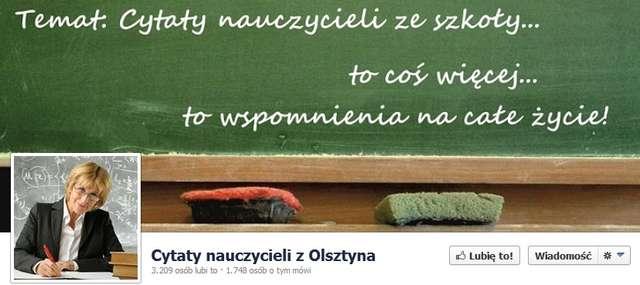 Cytaty nauczycieli z regionu robią furorę - full image