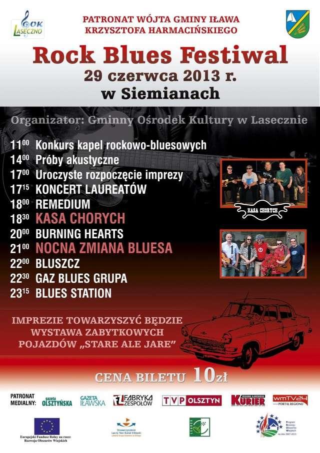Rock Blues Festiwal w Siemianach - full image