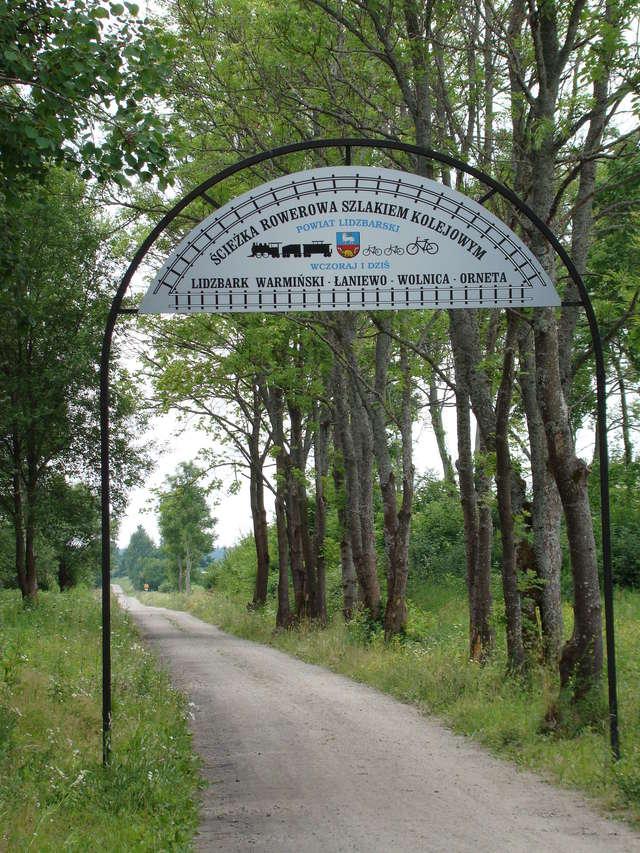 Ścieżka rowerowa Lidzbark Warmiński - Orneta - full image