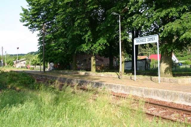 Stacja Suchacz - Zamek - full image