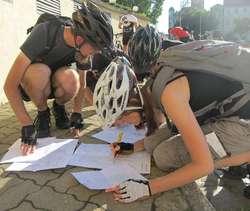 Zawody rowerowe Alleycat