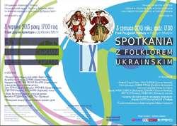 Przedjubileuszowe spotkania z ukraińskim folklorem w Dobrym Mieście