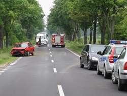 Wypadek w Białasach