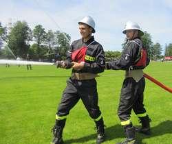 Zawody Ochotniczych Straży Pożarnych w Węgorzewie