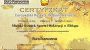 MOSiR z certyfikatem Euro Renoma