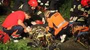 Wypadek pod Dobrym Miastem. 4 osoby ranne