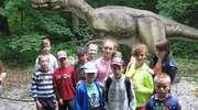 Uczniowie z Zagaj w DinoParku w Malborku