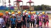Obóz sportowy na zakończenie roku szkolnego w SP3 w Olecku