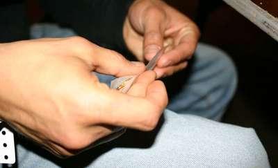20-latek trzymał marihuanę w pudełku po odżywce dla sportowców