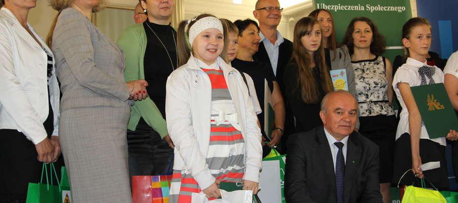 Kornelia w roku szkolnym 2012/2013 odnotowała już na swoim koncie kilka znaczących sukcesów plastycznych