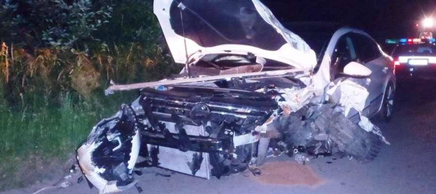 Do wypadku doszło 19 czerwca o godz. 00.35 na drodze wojewódzkiej W 504 w Bobrowcu (gm. Braniewo)