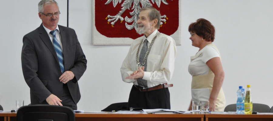 Burmistrz Żuromina Zbigniew Nosek dziękował za udzielenie absolutorium