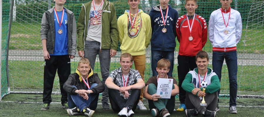 Gimnazjum nr 1 w Żurominie wygrało turniej rejonowy