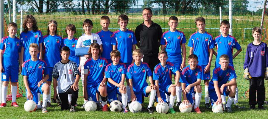 Młodzi piłkarze Roberta Piotrowskiego