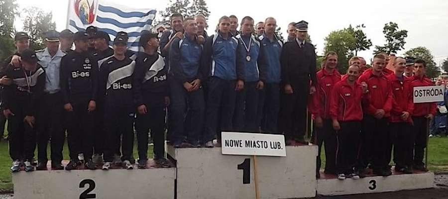 Najlepsze drużyny na podium
