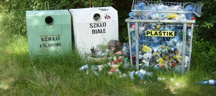 Zdjęcie zostało zrobione w miejscowości Lubień w gminie Miłomłyn