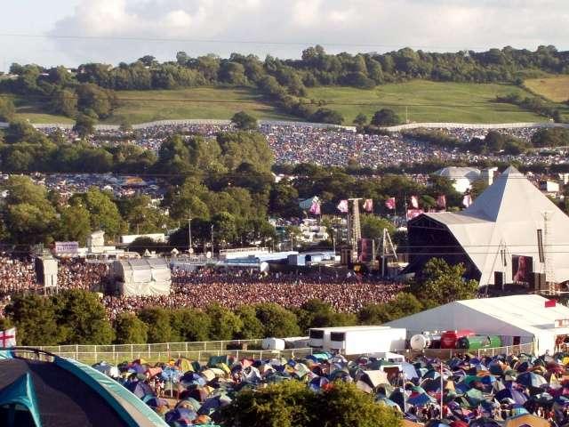Zakończył się festiwal w Glastonbury - full image
