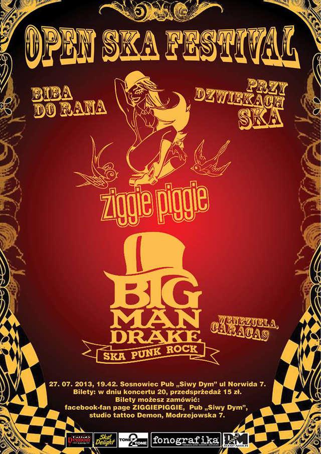Open SKA festiwal: Ziggie Piggie i Big Mandrake w Sosnowcu! - full image