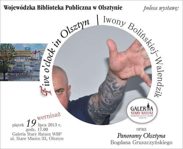"""""""Five o'clock in Olsztyn"""" - full image"""
