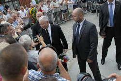 Jarosław Kaczyński ponownie odwiedził Elbląg
