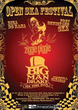 Open SKA festiwal: Ziggie Piggie i Big Mandrake w Sosnowcu!