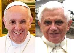 """Nowa encyklika Lumen Fidei jest pierwszą encykliką napisaną przez papieża Franciszka. Ojciec Święty przyznał, że powstawała """"na cztery ręce"""", tzn. jest rozwinięciem i uzupełnieniem niedokończonej encykliki Benedykta XVI."""