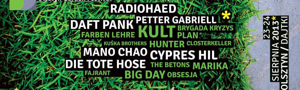 Wielki festiwal i gwiazdy w Olsztynie? To tylko happening!