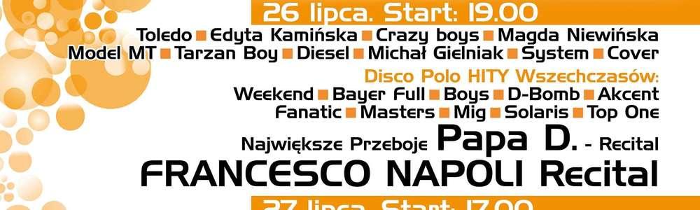 Bayer Full, Boys, Weekend... Już w weekend gwiazdy muzyki tanecznej w Ostródzie!