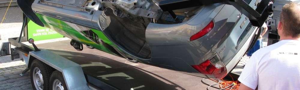 Festyn z bezpieczeństwem: Symulator dachowania i jazda 3D