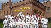 Karatecy na obozie w Karnitach