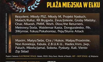 Hip hop w Ełku. Wystąpią najlepsi raperzy