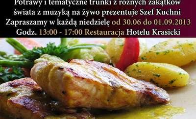 Zapraszamy na dania kuchni warmińskiej w Hotelu Krasicki