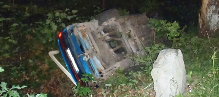 Do wypadku doszło 30 czerwca około godz. 22.30 w pobliżu Pierzchał