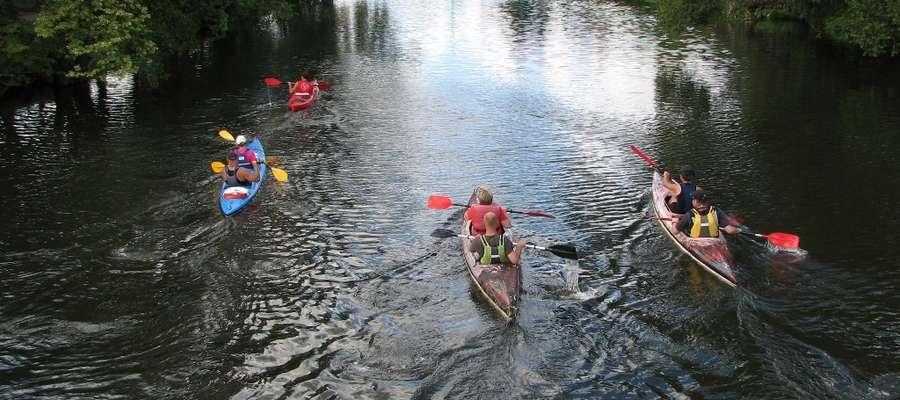 W spływie udział wzięło 32 osoby- większość to mieszkańcy Braniewa i Elbląga