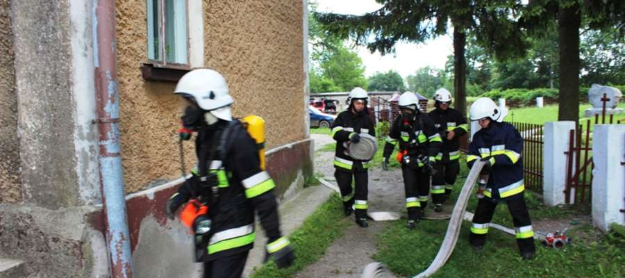 To kolejne ćwiczenia strażaków ochotników realizowane w bieżącym roku na terenie powiatu braniewskiego