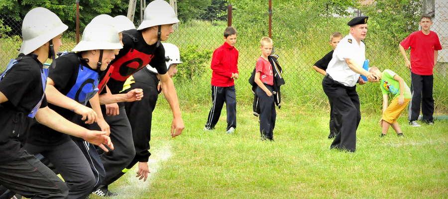 Młodzieżowa Drużyna z Jonnego startuje w ćwiczeniu bojowym