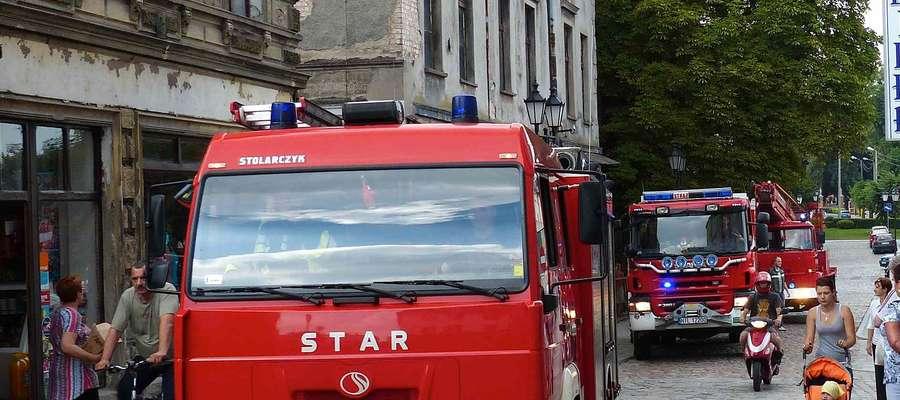 Strażacy szybko wrócili do swojej bazy