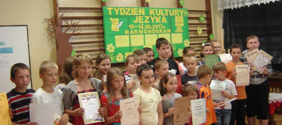 Tydzień kultury zakończył się wręczeniem nagród i dyplomów
