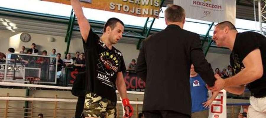Łebkowski znów nie mógł walczyć