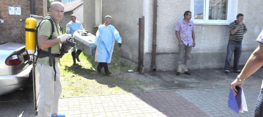 Zwłoki przekazano mławskiej prokuraturze