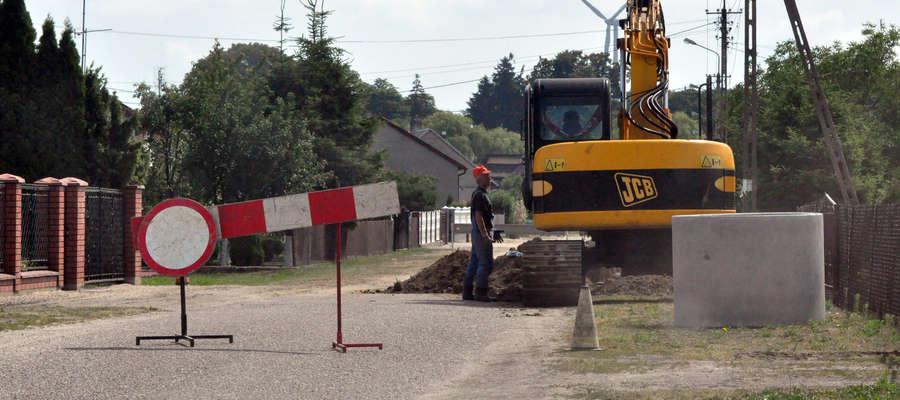 Zielona 9 lipca 2013 – prace trwają
