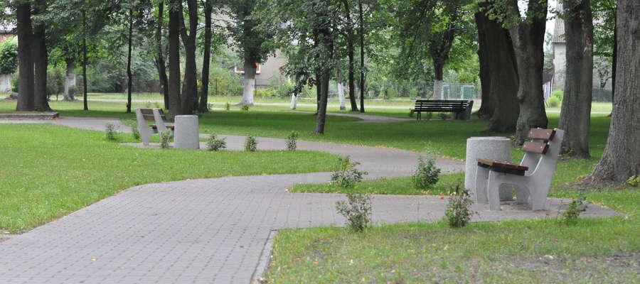 Park w Zieluniu otrzymał nowe oblicze