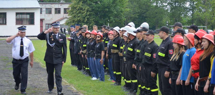 W Pieckach odbyły się Gminne Zawody Sportowo-Pożarnicze